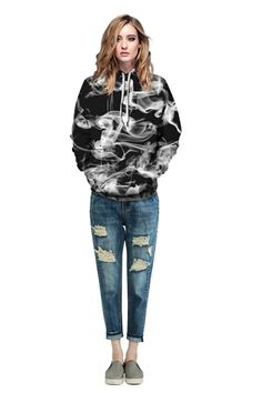 Vlone hoodie with Gloomy pattern printed long-sleeved hoodie – menlivestyle Sherpa Hoodie, Chill Outfits, Fashion Updates, Hooded Sweater, Black Hoodie, Print Patterns, Digital Prints, Winter Jackets, Womens Fashion
