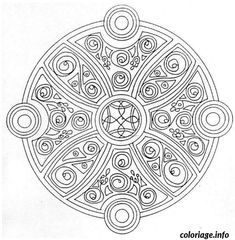 Coloriage A Imprimer Rosace Difficile.22 Meilleures Images Du Tableau Coloriage Rosace Coloring Sheets