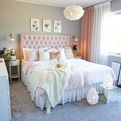 bedroom minimalist,bedroom master,bedroom organazation,bedroom white,bedroom boh… - My Favorite Bedroom Vintage, Shabby Chic Bedrooms, Trendy Bedroom, Cozy Bedroom, Dream Bedroom, Bedroom Decor, Bedroom Small, Bedroom Rustic, Bedroom Girls