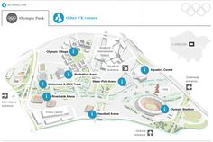 London 2012 Olympics venue guide