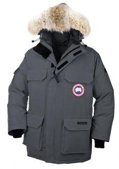 Parka Canada Goose Expedition Homme gris foncé336