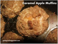 Caramel (in the middle) Apple Muffins