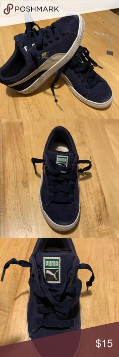 Puma Class PS Childrens Boys Classic Sneakers Trainers Sports Shoes