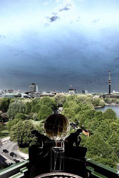 Blick vom Hotel ....:-) | Bildschönes Hamburg
