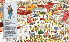 TOUCH esta imagen: Fantástico trabajo de Jara Hernández Quijada para trabajar el vocabulario de la ciudad