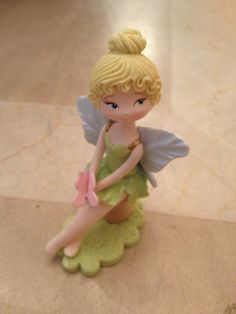 NEW Tinker Bell 3 Hand Crafted Cold Porcelain Fairy by LazoDesigns, $3,80