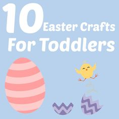 10 Easy Easter Crafts For Toddlers - Not Another Mummy Blog