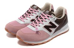 2013 launched women's New Balance WR 996 RP shoes pink / white / chocolate