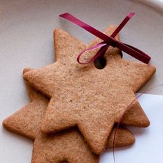 Cinnamon Dough Ornaments. These will be the best ornaments you'll ever make. And they smell amazing for years!