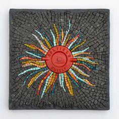 Incendio | Julie Sperling Mosaics
