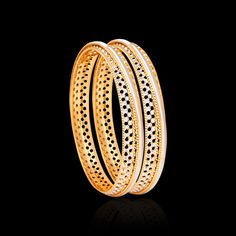 These gold bangles collection have wonderful patterns engraved on them using the laser cut technology. Buy these laser cut CNC gold bangles from Zar Jewels now! Jewelry Art, Jewlery, Silver Jewelry, Jewellery Designs, Bracelet Designs, Baby Girl Drawing, Gold Bangles Design, Quote Life, Gold Bracelets