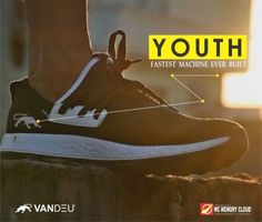 The Fastest machine ever built by WC Memory Cloud technology by VANDEU. To know more log on to http://www.vandeu.com  @vandeushoes