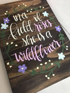 Ideas baby crafts diy room wood signs for 2019 Baby Crafts, Diy And Crafts, Diy For Kids, Crafts For Kids, Wood Projects, Craft Projects, Hand Lettering, Lettering Styles, Lettering Tutorial