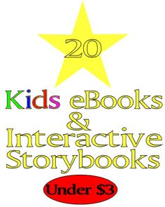 20 Kindle eBooks and Interactive Storybooks for Kids!#Repin By:Pinterest++ for iPad#