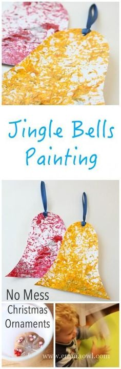 Jingle Bells Shake it Up Painting - No Mess and so much fun to do! Great Kids Christmas Craft Project Jingle Bells Shake it Up Painting - No Mess and so much fun to do! Christmas Arts And Crafts, Christmas Craft Projects, Preschool Christmas, Toddler Christmas, Christmas Activities, Christmas Themes, Projects For Kids, Christmas Fun, Holiday Crafts