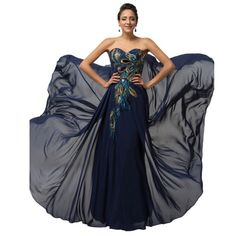 da62982661b57 Long Purple Blue Apricot Black Prom Dresses Formal Gown