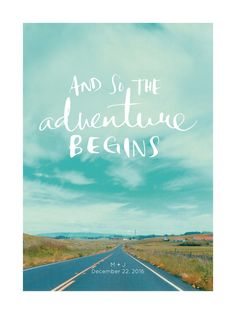love is an adventure by SylvieCeres Designs for Minted