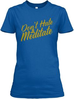 LIMITED EDITION-MEDITATE