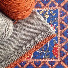 Something simple Seed Stitch Baby Sweater on the needles #littlenutmegproductions #meghanjoneslnmp #makersofinstagram #knittingpattern #knittersofig #knittingaddict #knits #knitted #knit #knits #knitlove #knittersoftheworld #knittersofinstagram #design #designer #knitdesign #knitdesigner #knitting_inspiration #knitspiration #knitstagram #babyknits #knitsforkids #instadaily #nofilter #knitting #giftknitting #berroco #berrocoyarn #orange #premiumknit