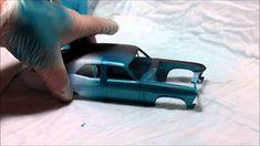 Airbrushing Craft Acrylic and Testors Aztek Model Acrylic - Part 1
