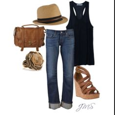 Summer Looks {My Style Reminds me of one of my favorite fabulous blondes Yolanda Foster. The post Summer Looks {My Style appeared first on Summer Ideas. Mode Outfits, Fashion Outfits, Womens Fashion, Ladies Fashion, Outfits 2016, Fashion Trends, Fashion Ideas, Fashion 2016, Fashion Quotes