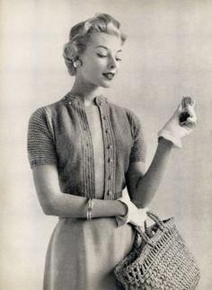 New Moda Vintage Retro Cardigans 28 Ideas Moda Vintage, Vintage Mode, Style Vintage, Vintage Glamour, Vintage Beauty, Vintage Inspired, Retro Vintage, 50s Glamour, Vintage Pins