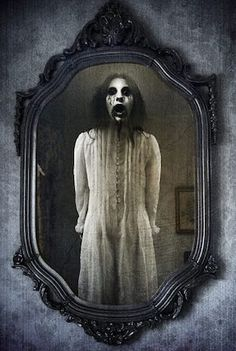 """Bloody Mary is a folklore legend consisting of a ghost, phantom, or spirit conjured to reveal the future. She is said to appear in a mirror when her name is called three times. The Bloody Mary apparition may be benign or malevolent, depending on historic variations of the legend. The Bloody Mary appearances are mostly """"witnessed"""" in group participation play."""