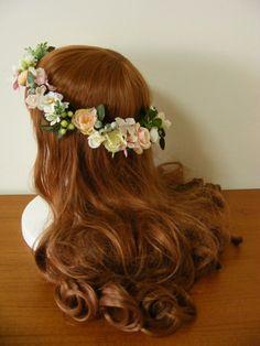 「ナチュラル&キュートに♡ ピンク&白・グリーンの花冠♪」の画像|Ordermade Wedding F… |Ameba (アメーバ)