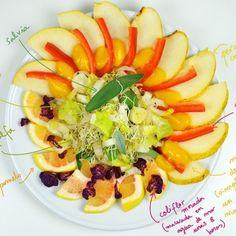 Kijimuna's Kitchen. Recetas sencillas con alimentos vivos   Raw Food Recipes, Fruit Salad, Cantaloupe, Mango, Foods, Salads, Sweet Treats, Sprouts, Healthy Living
