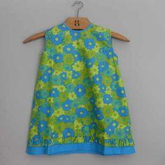vintage 60s toddler dress. love!