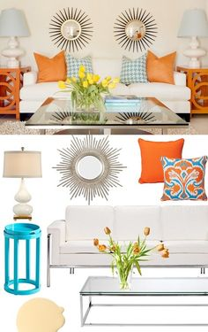 Brights on white-- get help with color combinations