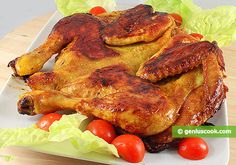 Chicken Tabaka, Grilled Chicken Georgian Style | Meat Dishes | Genius cook - Healthy Nutrition, Tasty Food, Simple Recipes