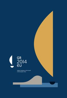 Hellenic Presidency of the Council of the European Unio by Beetroot Design, via Behance