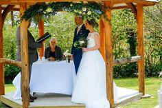 Stunning Beach View Wedding Ceremony At Porthgwidden Beach
