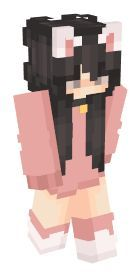 Check out our list of the best Cute Minecraft skins. Minecraft Skins Kawaii, Mine Minecraft, Minecraft Tips, Minecraft Games, Minecraft Skins For Girls, Neko, Minecraft Skins Aesthetic, Skin Aesthetics, Mc Skins