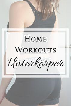 Home Workouts für den Unterkörper (Beine und Po) findest du hier!
