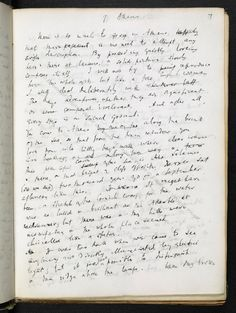 Virginia Woolf's travel and literary notebook, - The British Library Men Of Letters, Bloomsbury Group, English Writers, Room Of One's Own, Journal Aesthetic, Virginia Woolf, British Library, Writing Ideas, Cursive