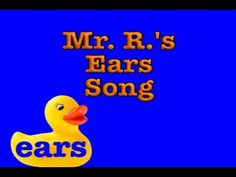 five senses song- ears and hearing - covers loud and soft.good introduction to sound. High and low not part of song. Science Poems, Math Songs, Science Videos, Kindergarten Music Lessons, Kindergarten Science, Elementary Science, Five Senses Preschool, My Five Senses, Lesson Plans For Toddlers