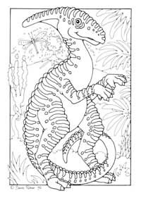 Dinosaur Colouring Page Coloring Booth Or We Could Make Mini