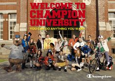 CHAMPION 2012 SPRING & SUMMER #champion #fashion #image #advertisement #direction #design #campaign #print #storepromotiontool #web #ivy #university #dekisugi #concept #copy