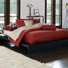 Simply Vera by Vera Wang King Comforter Set – Persimmon (Burnt Orange) #VeraWang