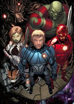 Is Marvel Developing a GUARDIANS OF THE GALAXY Animated Series? — GeekTyrant