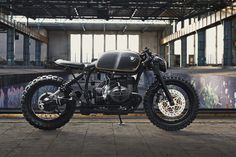 The third build from Munich-based Diamond Atelier is this brutal-looking BMW R100R custom, complete with uprated engine and modern Brembo brakes.
