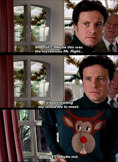 Bridget Jones's Diary (2001) - Colin Firth as Mark Darcy ... not mr Darcy in his x-mas outfit :)