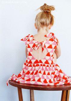 Knot Dress Free Pattern - sizes 2T thru 6T