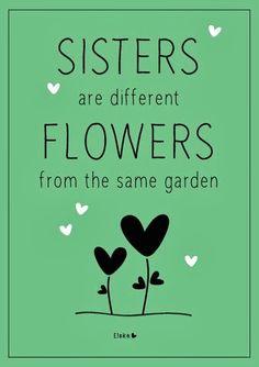 Sisters are flowers | Elske | www.elskeleenstra.nl | #100daysofsisters Instagram photo challenge