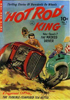 Hot Rod King #1, 1952