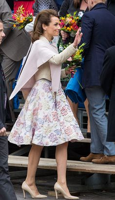 Princess Aimee of The Netherlands attends celebrations marking his 49th birthday on King's Day on April 27, 2016 in Zwolle, Netherlands.