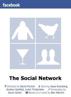 The Social Network (2010) by littlemovienerd #socialnetwork #thesocialnetwork #movieposters #posters #minimalmovieposters #posterdesign #2010 #2010movies