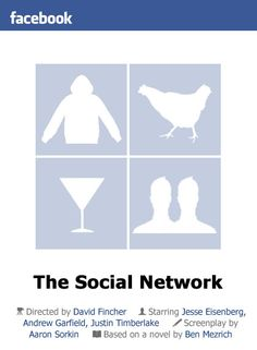 The Social Network (2010) by littlemovienerd #socialnetwork #thesocialnetwork #movieposters #posters #minimalmovieposters #posterdesign #2010 #2010movies